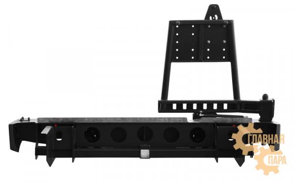 Задний силовой бампер OJ 03.146.02 на Great Wall Wingle 5 стандарт, лифт 30-50 мм