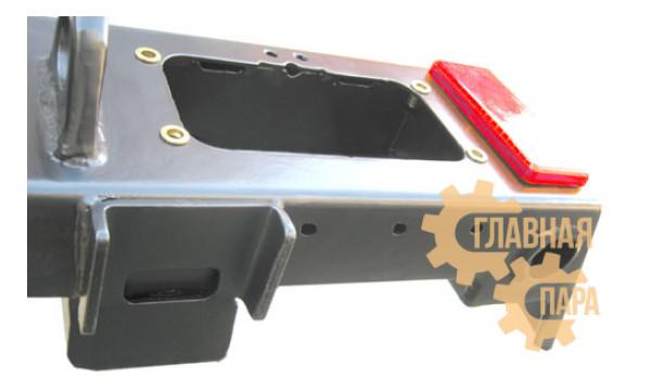 Задний силовой бампер OJ 03.106.01 для УАЗ Хантер