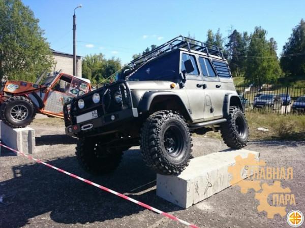 Багажник экспедиционный Б16.02 на УАЗ 3151 Хантер (2000х1400х120мм)