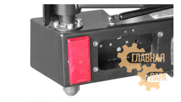 Задний силовой бампер OJ 03.106.03 для УАЗ Хантер с калиткой