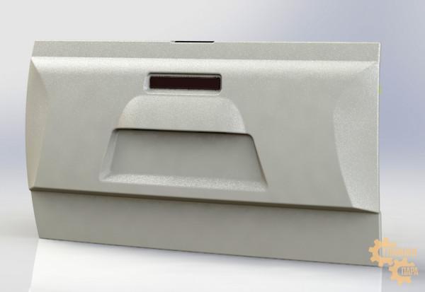 Дверь задка с органайзером и стоп-сигналом АВС-Дизайн UAZ Пикап 2010- (под покраску)