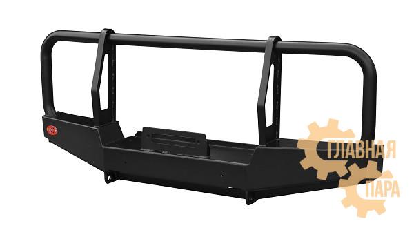 Бампер передний силовой OJ 02.223.10 для УАЗ Хантер с кенгурином и площадкой под лебедку
