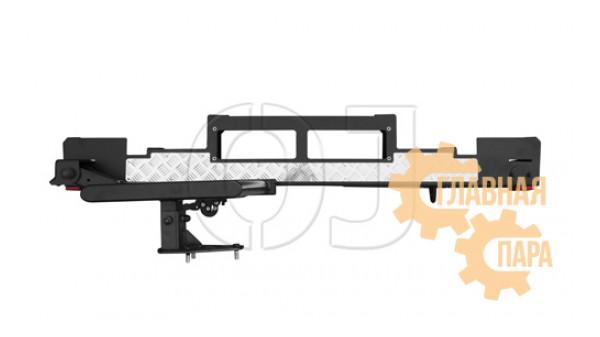 Задний силовой бампер OJ 03.107.07 для УАЗ Хантер с площадкой лебёдки и левой калиткой под запаску