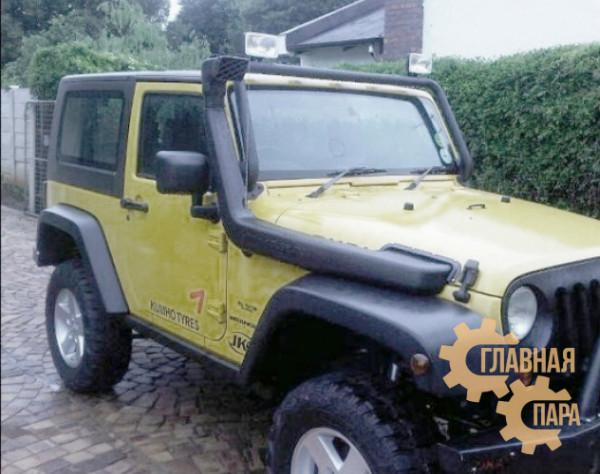 Шноркель SJWJKSA Telawei для Jeep Wrangler JK (бензин и дизель)