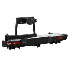 Задний силовой бампер OJ 03.146.03 для Great Wall Wingle 5 стандарт, лифт 30-50 мм