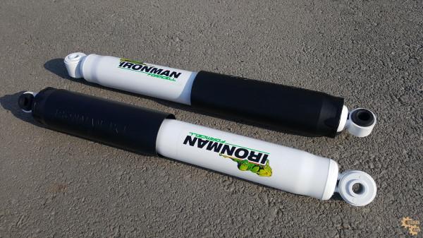 Амортизатор задний Ironman для Nissan Navara D40 2005+ лифт 40 мм (масло)
