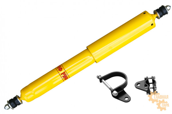 Демпфер рулевой РИФ SD03S с кронштейнами ГАЗ Соболь 4x4