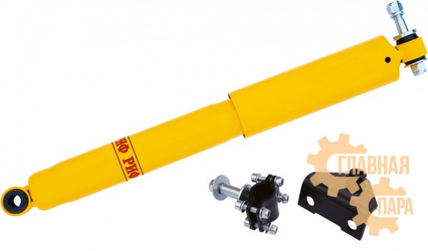 Демпфер рулевой РИФ SD01B с кронштейнами на УАЗ Буханка