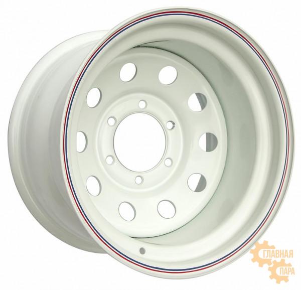 Диск усиленный стальной белый 6x139,7 10xR15 d110 ET-44