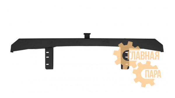 Задний силовой бампер OJ 03.133.51 для УАЗ Буханка с квадратом под фаркоп