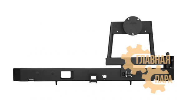 Задний силовой бампер OJ 03.134.51 для УАЗ Буханка с калиткой под запаску