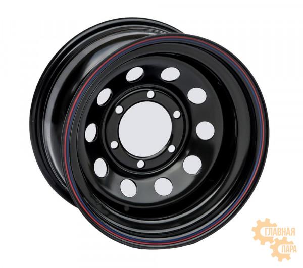 Диск усиленный стальной черный 6x139,7 8xR15 d110 ET-19