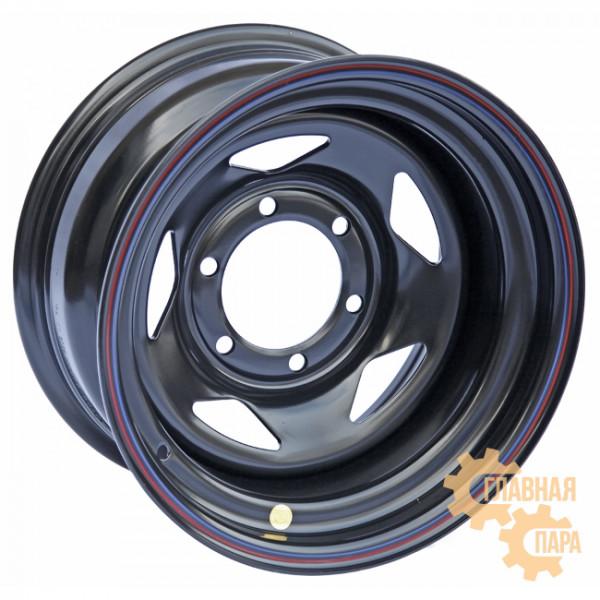 Диск усиленный Тойота Ниссан стальной черный 6x139,7 8xR15 ET-19 (треугольник)