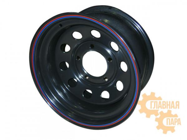 Диск усиленный УАЗ стальной черный 5x139,7 7xR16 d110 ET+15