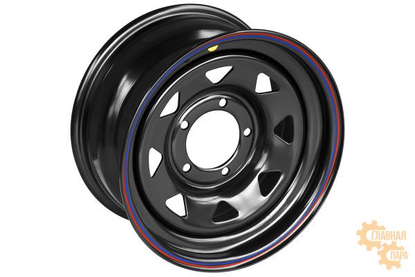 Диск усиленный УАЗ стальной черный 5x139,7 8xR16 d110 ET+20 (треугольник мелкий)