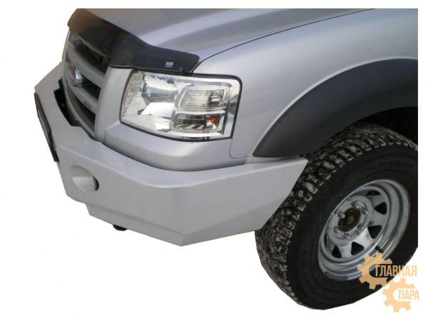 Бампер передний силовой Вездеходофф для Ford Ranger 2006-2010 с фарами