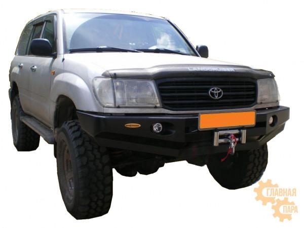 Бампер передний силовой Вездеходофф для Toyota Land Cruiser 105/100 с фарами