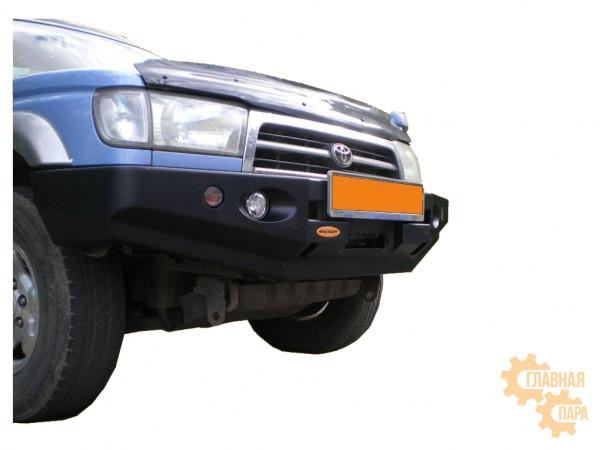 Бампер силовой передний Вездеходофф для Toyota Hilux Surf 185