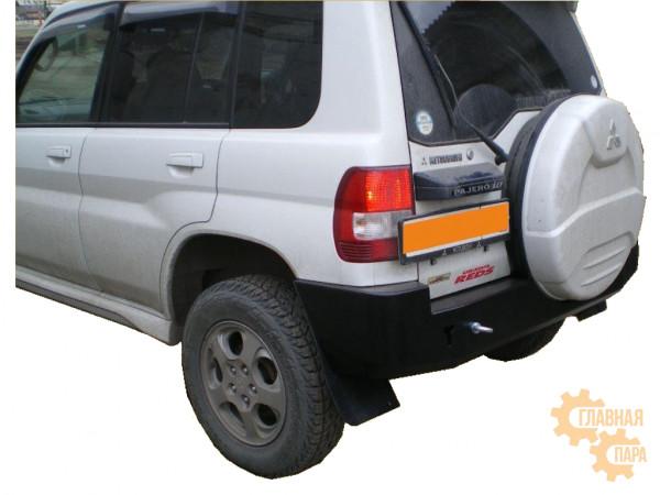 Задний силовой бампер Вездеходофф на Mitsubishi Pajero IO