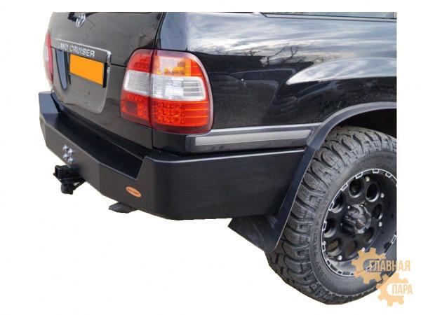 Бампер задний силовой Вездеходофф для Toyota Land Cruiser 100