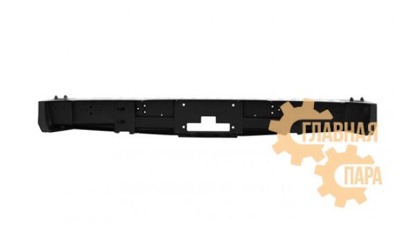 Задний силовой бампер OJ 03.130.01 на Toyota HILUX 2011-2015 c площадкой под лебедку