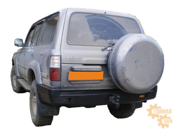 Бампер силовой задний Вездеходофф для Toyota Land Cruiser 80