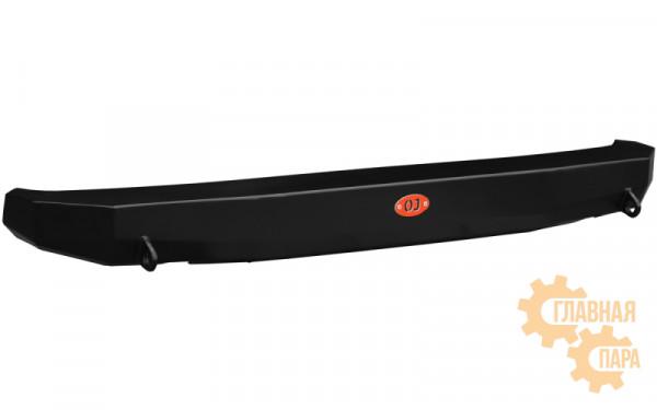 Задний силовой бампер OJ 03.109.10 для Нива 2121, 2131 всех модификаций