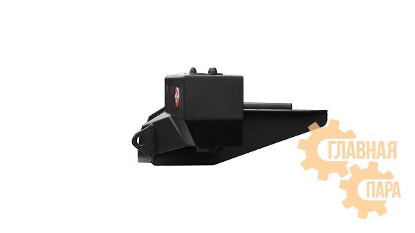 Задний силовой бампер OJ 03.101.21 для УАЗ Буханка с возможностью установки лебёдки