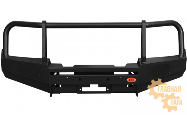 Бампер передний силовой OJ 02.012.01 на Nissan Navara D40 и Pathfinder R51 до 2010