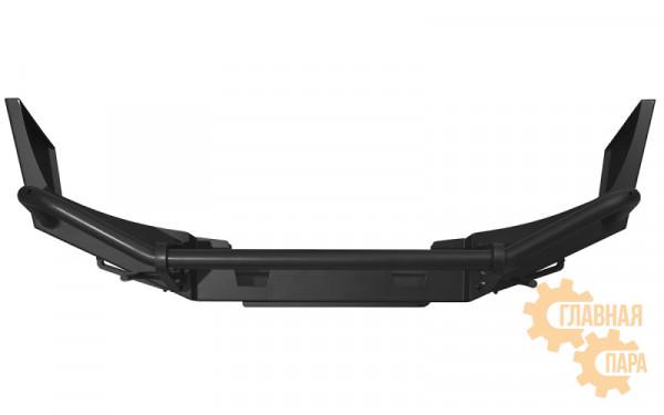 Бампер передний OJ 02.012.03 на Nissan Navara D40 и Pathfinder R51 до 2010 + доп. опции