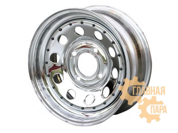 Диск усиленный УАЗ стальной хромированный 5x139,7 8xR16 d110 ET-19