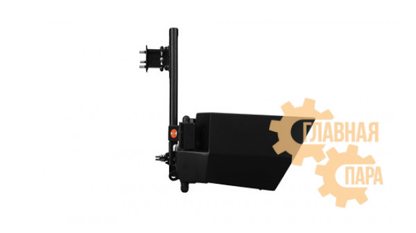Задний силовой бампер OJ 03.110.11 с правой универсальной калиткой для УАЗ Патриот в т.ч. рестайлинг 2014-
