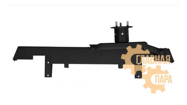 Задний силовой бампер OJ 03.413.10 для УАЗ Хантер с левой калиткой под запаску