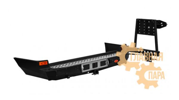Задний силовой бампер OJ 03.121.05 для Toyota Land Cruiser 105