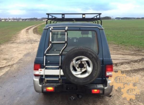 Багажник экспедиционный Б06.03 на Hyundai Galloper с сеткой