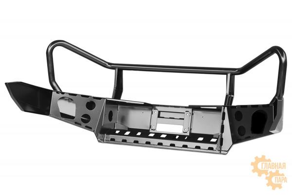 Бампер силовой передний РИФ для ГАЗ Соболь без доп. фар с защитной дугой стандарт