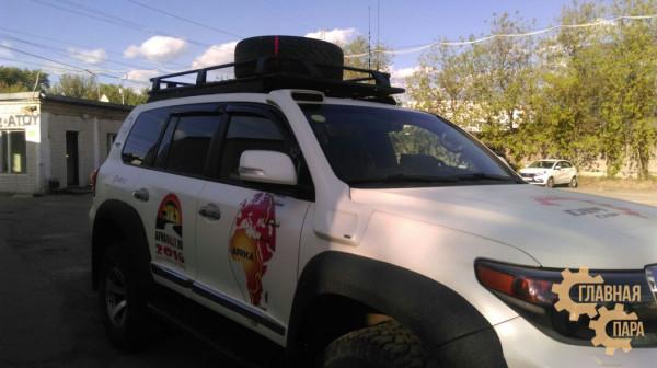 Багажник экспедиционный KDT