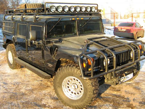 Багажник экспедиционный KDT для Hummer H1