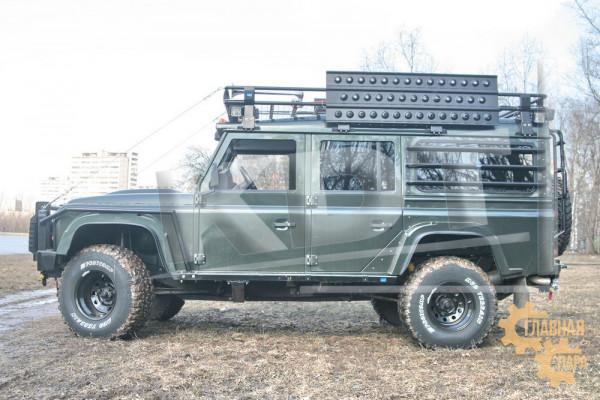 Багажник экспедиционный KDT для Land Rover Defender 110