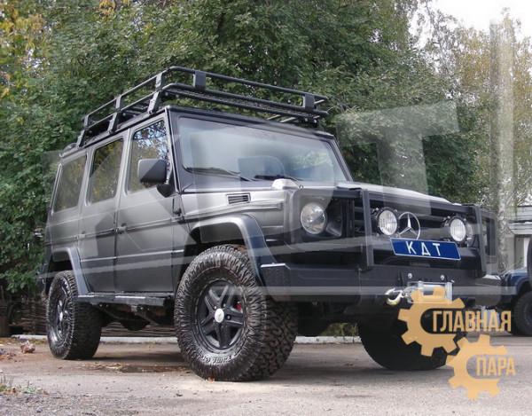 Багажник экспедиционный KDT для Mercedes-Benz G-класс (6 опор)