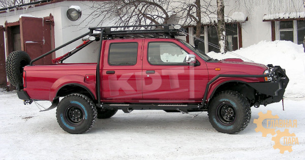 Багажник экспедиционный KDT для Nissan NP-300