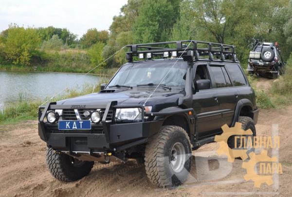Багажник экспедиционный KDT для Nissan Patrol (8 опор)