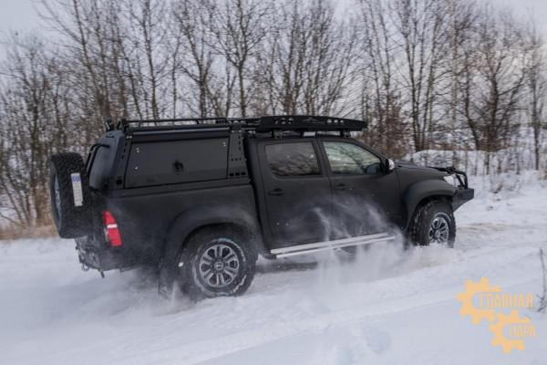 Багажник экспедиционный KDT для Toyota Hilux Arctic Trucks