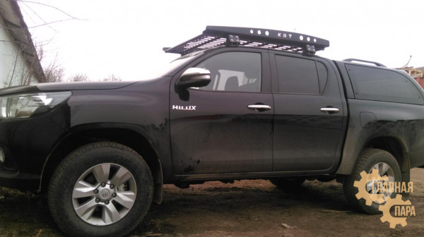 Багажник экспедиционный KDT для Toyota Hilux