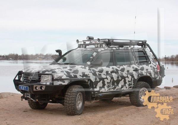 Багажник экспедиционный KDT для Toyota Land Cruiser 200
