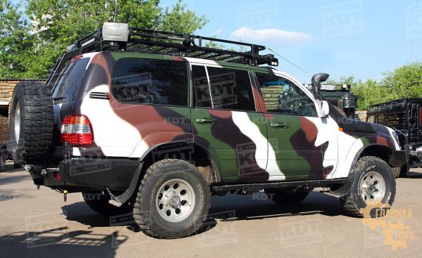 Багажник экспедиционный алюминиевый KDT для Land Cruiser 105
