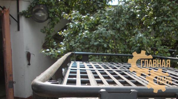 Багажник экспедиционный алюминиевый KDT для Land Cruiser Prado 90