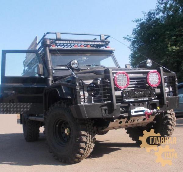 Багажник экспедиционный алюминиевый KDT для Land Rover Defender 110