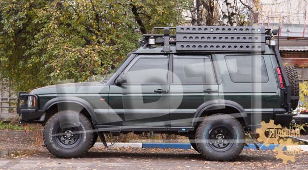Багажник экспедиционный алюминиевый KDT для Land Rover Discovery 1, 2